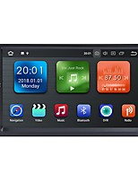 abordables -Factory OEM WN7098 7 pouce 2 Din Android 8.1 In-Dash DVD Player / Lecteur multimédia de voiture / Navigateur GPS de voiture GPS / Bluetooth Intégré / RDS pour Universel RCA / GPS Soutien MPEG / AVI