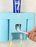 baratos -Caneca de Escova de Dentes Adorável / Criativo Contemporâneo Moderno Plástico 3pçs Escova de Dentes e Acessórios