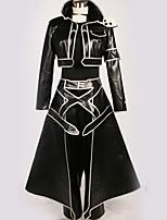 Недорогие -Вдохновлен Sword Art Online Kirito Аниме Косплэй костюмы Косплей Костюмы Особый дизайн Кофты / Брюки / Больше аксессуаров Назначение Муж. / Жен.