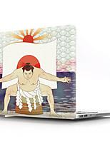 """Недорогие -MacBook Кейс Мультипликация ПВХ для MacBook Pro, 13 дюймов / MacBook Pro, 15 дюймов с дисплеем Retina / New MacBook Air 13"""" 2018"""