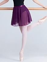 abordables -Danse classique Bas Femme Entraînement / Utilisation Elasthanne / Lycra Châssis / rubans / Combinaison Taille moyenne Jupes