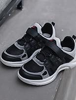Недорогие -Девочки Обувь Сетка Наступила зима Удобная обувь Спортивная обувь Бант / Молнии для Дети Белый / Черный / Красный