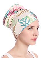 Недорогие -Жен. Винтаж / Для вечеринки / Праздник Широкополая шляпа Цветочный принт Тропический лист
