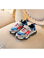 Недорогие -Мальчики / Девочки Обувь Сетка Осень Удобная обувь Спортивная обувь На липучках для Дети / Дети (1-4 лет) Черный / Бежевый / Серый / Полоски
