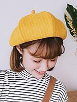 Недорогие -Жен. Активный / Классический Берет / Шляпа от солнца Полоски