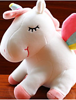 Недорогие -единорог Мягкие игрушки Разговор Животные говорящий Милый Хлопок / полиэфир Все Игрушки Подарок 1 pcs