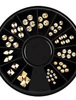 Недорогие -1 pcs Стразы для ногтей Лучшее качество Креатив маникюр Маникюр педикюр Повседневные Мода