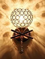 Недорогие -Cool Простой / Современный современный Настенные светильники Спальня Металл настенный светильник 220-240Вольт 40 W