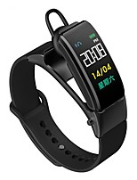 Недорогие -KUPENG B31S Умный браслет Android iOS Bluetooth Спорт Пульсомер Измерение кровяного давления Сенсорный экран / Израсходовано калорий / Длительное время ожидания / Хендс-фри звонки / Педометр