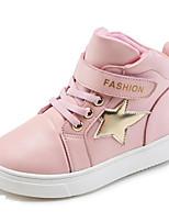 Недорогие -Мальчики / Девочки Обувь Полиуретан Весна & осень Удобная обувь Спортивная обувь Беговая обувь На липучках для Дети Белый / Черный / Розовый