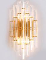 baratos -Novo Design Contemporâneo Moderno Luminárias de parede Quarto Vidro Luz de parede 220-240V 40 W