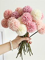 Недорогие -Искусственные Цветы 1 Филиал Классический Стиль Ромашки Букеты на стол