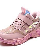 Недорогие -Мальчики / Девочки Обувь Кожа Зима Удобная обувь Спортивная обувь Беговая обувь для Для подростков Черный / Красный / Розовый