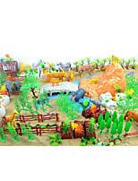 Недорогие -Сад Слон Лошадь Мягкие и плюшевые игрушки Животные ПВХ (поливинилхлорида) Все Игрушки Подарок 200 pcs