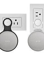 baratos -suporte de parede de tomada de parede para google home mini, um acessórios de economia de espaço para google home mini assistente de voz