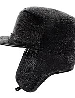 Недорогие -Муж. Классический Лыжная шапочка / Кепка-восьмиклинка Однотонный