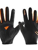 baratos -Dedo Total Unisexo Motos luvas Microfibra / Elastano Licra / silica Gel Respirável / Anti-desgaste / Antiderrapante