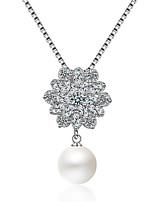 Недорогие -Жен. Мода / Элегантный стиль ожерелья Однотонный