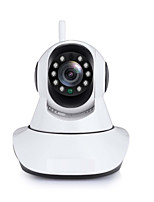 abordables -didseth® 1mp ip camera indoor support 64 gb ptz cmos détection de mouvement jour / nuit sans fil