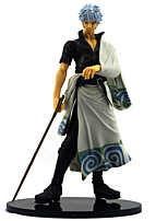 billiga -Anime Actionfigurer Inspirerad av Gintama Gintoki Sakata pvc 25 cm CM Modell Leksaker Dockleksak