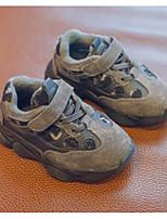 Недорогие -Мальчики / Девочки Обувь Свиная кожа Зима Удобная обувь Спортивная обувь Беговая обувь для Дети Серый / Коричневый / Хаки