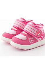Недорогие -Мальчики / Девочки Обувь Сетка Наступила зима Удобная обувь / Обувь для малышей Кеды для Дети (1-4 лет) Темно-синий / Пурпурный / Розовый
