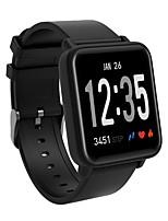 abordables -BoZhuo DO10 Bracelet à puce Android iOS Bluetooth Sportif Imperméable Moniteur de Fréquence Cardiaque Mesure de la pression sanguine Podomètre Rappel d'Appel Moniteur de Sommeil Rappel sédentaire