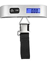 Недорогие -50kg/10g Высокое разрешение Ручная электронная шкала для багажа Семейная жизнь Наружное путешествие