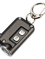 abordables -Nitecore TINI Lampes de poche Porte-clés LED LED 1 Émetteurs 380 lm Transport Facile Usage quotidien Vert / Bleu / Gris