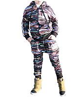 Недорогие -Дети Мальчики Классический Однотонный Длинный рукав Полиэстер Набор одежды Черный