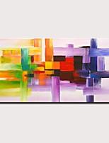 abordables -Peinture à l'huile Hang-peint Peint à la main - Abstrait Paysage Moderne Sans cadre intérieur