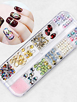 abordables -1 pcs Bijoux pour ongles Strass Universel / Nouveautés Thème classique Créatif Manucure Manucure pédicure Quotidien / Festival Coréen / Mode