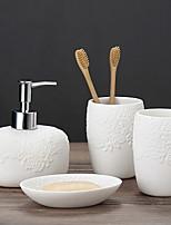 Недорогие -Стакан для зубных щеток обожаемый / Креатив Modern пластик 1 комплект Зубная щетка и аксессуары