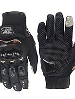 Недорогие -Полныйпалец Муж. Мотоцикл перчатки Полиэфирная ткань Дышащий / Износостойкий / Non Slip