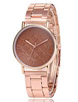Недорогие -Жен. Нарядные часы Наручные часы Кварцевый Розовое золото Повседневные часы Аналоговый Дамы Мода Элегантный стиль - Красный Синий Розовый