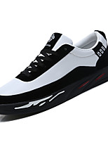 Недорогие -Муж. Комфортная обувь Полиуретан Осень На каждый день Кеды Дышащий Серый / Черно-белый / Wit En Groen