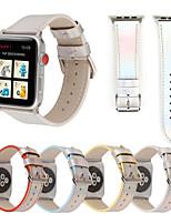Недорогие -SmartWatch Band для Apple Watch серии 4/3/2/1 классический пряжка пу iwatch ремешок