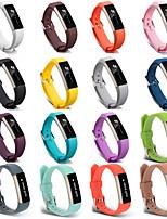 Недорогие -Ремешок для часов для Fitbit Alta HR / Fitbit Alta Fitbit Спортивный ремешок силиконовый Повязка на запястье