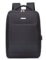 Недорогие -Муж. Мешки Полиэстер / Белье рюкзак Молнии Черный / Серый / Коричневый
