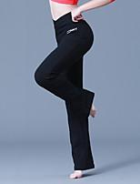 abordables -Danse latine Bas Femme / Fille Utilisation Coton / Spandex Motif / Impression / Combinaison Taille moyenne Pantalon