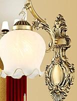 Недорогие -Cool Простой Настенные светильники Спальня Металл настенный светильник 220-240Вольт 40 W