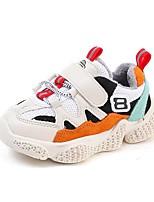Недорогие -Мальчики / Девочки Обувь Полиуретан Зима Удобная обувь / Обувь для малышей Спортивная обувь Беговая обувь для Дети (1-4 лет) Черный / Оранжевый / Синий
