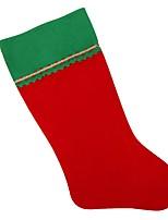 Недорогие -Чулки / Рождество / Рождественские чулки Праздник / Новогодняя ёлка Нетканый материал Прямоугольный Для вечеринок Рождественские украшения