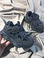 Недорогие -Мальчики / Девочки Обувь Кожа Наступила зима Удобная обувь / Обувь для малышей Спортивная обувь Беговая обувь для Дети (1-4 лет) Темно-синий / Военно-зеленный