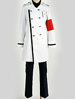 baratos -Inspirado por Guilty Crown Fantasias Anime Fantasias de Cosplay Ternos de Cosplay Formais / Contemporâneo Casaco / Blusa / Calças Para Homens / Mulheres