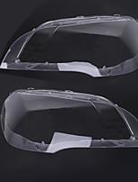 Недорогие -2pcs Автомобиль Автомобильные световые чехлы прозрачный Новый дизайн для Головной свет Назначение BMW 2008 / 2009 / 2010