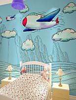 baratos -papel de parede / Mural Tela de pintura Revestimento de paredes - adesivo necessário Pintura / Padrão / 3D