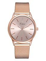 Недорогие -Жен. Наручные часы Кварцевый Черный / Серебристый металл / Золотистый Новый дизайн Повседневные часы Имитация Алмазный Аналоговый На каждый день Мода -  / Один год / Один год