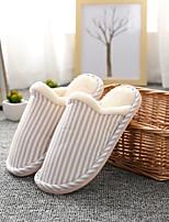 Недорогие -Женские тапочки / Мужские тапочки / Тапочки для девочек Тапочки для гостей / Домашние тапки Геометрический рисунок Трикотаж Обувь