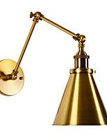 Недорогие -Мини / Новый дизайн Деревенский стиль / Простой Настенные светильники / Подголовники Гостиная / Спальня Металл настенный светильник 110-120Вольт / 220-240Вольт 60 W